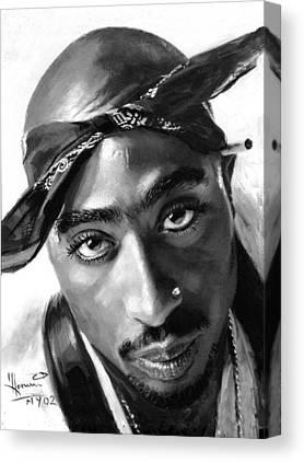 Tupac Canvas Prints