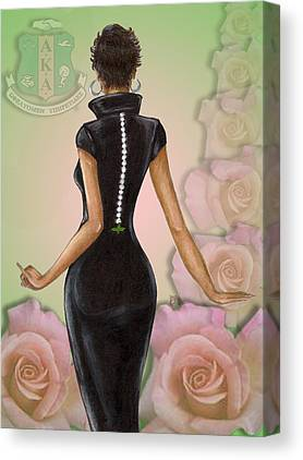 Alpha Kappa Alpha Canvas Prints