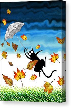 Gusts Canvas Prints