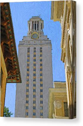Texas Western Art Collector Canvas Prints