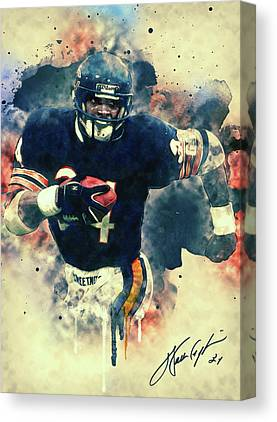Walter Payton Canvas Prints