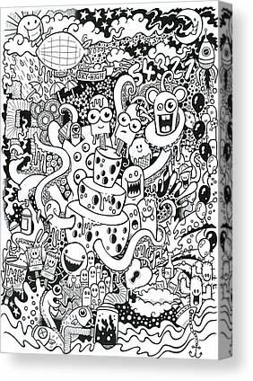 Blimps Canvas Prints