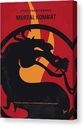 Mortal Kombat Canvas Prints