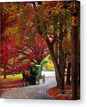 Mennonite Community Canvas Prints