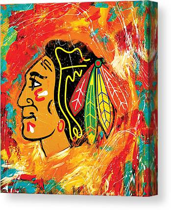 Blackhawk Canvas Prints