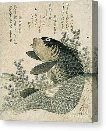 Japanese Poetry Canvas Prints
