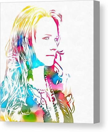 Miranda Lambert Canvas Prints