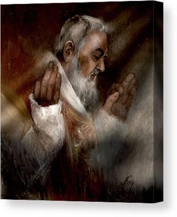 Padre Pio Canvas Prints