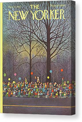 Macys Parade Canvas Prints