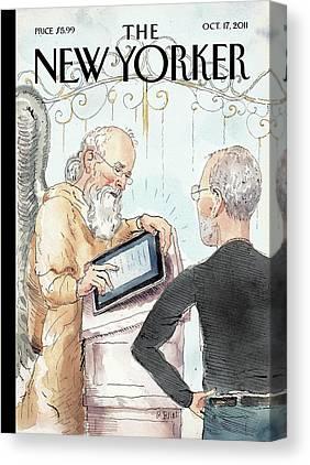 Steve Jobs Canvas Prints