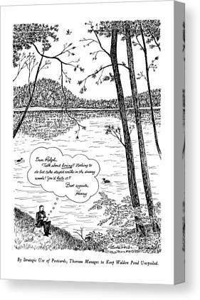Walden Pond Canvas Prints