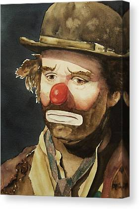 Clown Canvas Prints