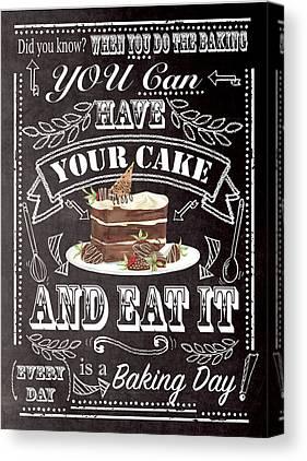 Cake Canvas Prints