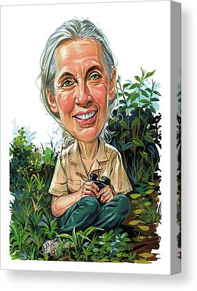 Designs Similar to Jane Goodall by Art
