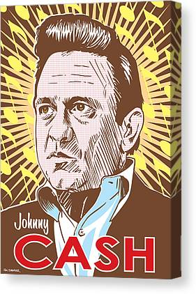 Johnny Cash Canvas Prints