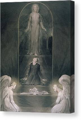 St Mary Magdalene Drawings Canvas Prints
