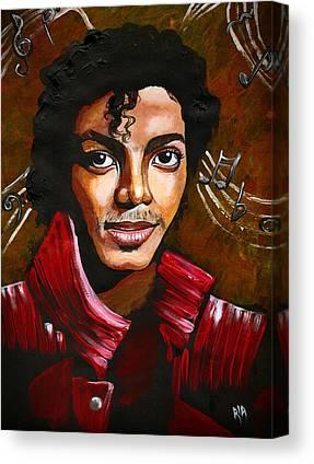 Michael Jackson Canvas Prints