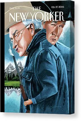 Dick Cheney Canvas Prints