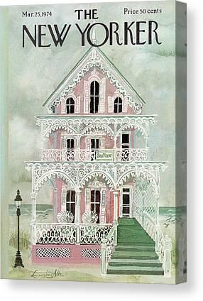 Victorian Homes Canvas Prints