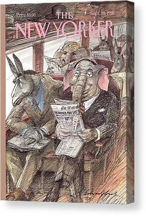 Democrate Canvas Prints