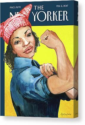 Protest Canvas Prints