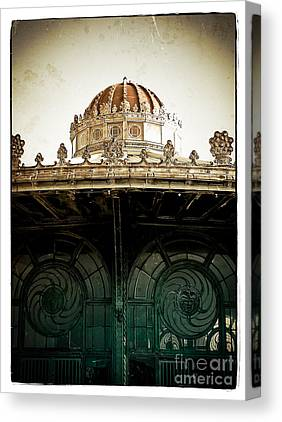 Carousel House Canvas Prints