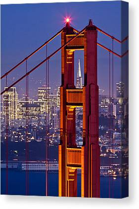 San Francisco Embarcadero Canvas Prints