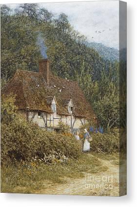 English Country Art Canvas Prints