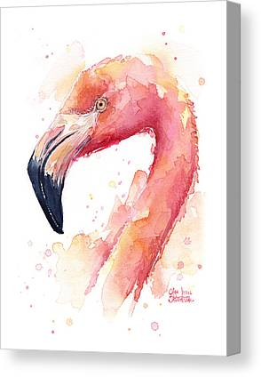 Flamingo Canvas Prints
