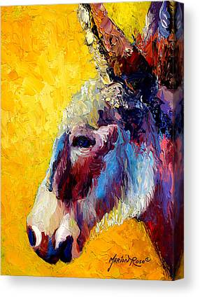 Burros Canvas Prints