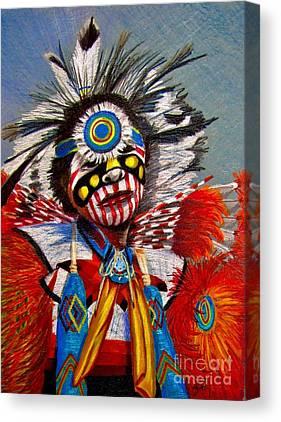Pueblo Drawings Canvas Prints