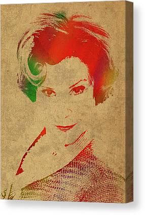 Dolores Mixed Media Canvas Prints