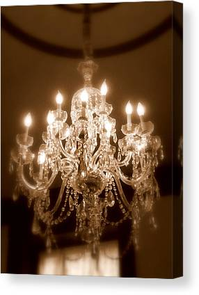 Candle Lit Photographs Canvas Prints
