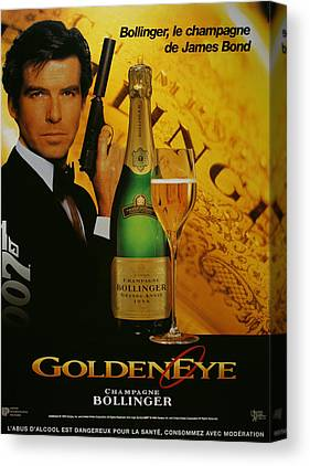 Goldeneye 007 Canvas Prints