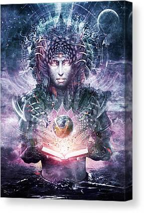 Atlantis Digital Art Canvas Prints