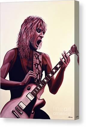 The Les Paul Guitar Canvas Prints