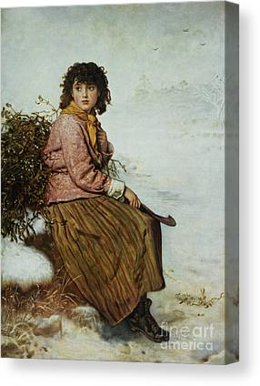 Mistletoe Canvas Prints
