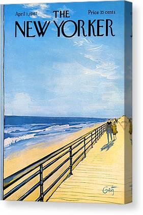 Boardwalk Canvas Prints