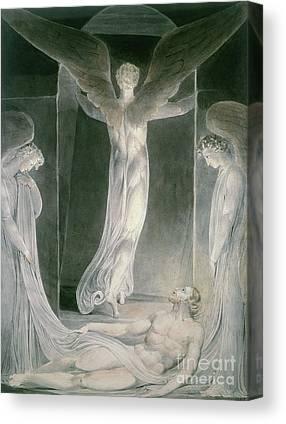 William Blake Drawings Canvas Prints