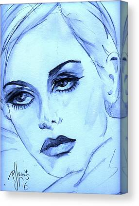 Twiggy Drawings Canvas Prints