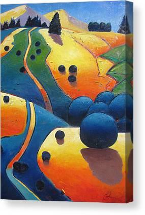 Intense Color Canvas Prints