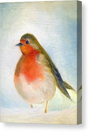 Robin Canvas Prints