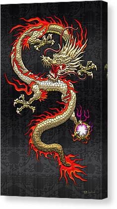 Dragons Canvas Prints