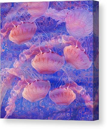 Pulsating Canvas Prints
