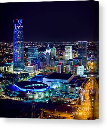 Oklahoma City Thunder Canvas Prints