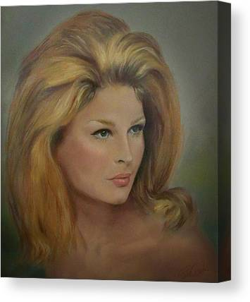 Bouffant Canvas Prints