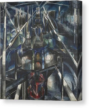 Precisionism Canvas Prints
