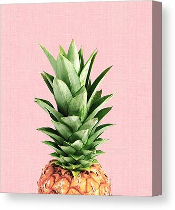 Pineapple Photographs Canvas Prints