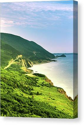 Cape Breton Island Canvas Prints