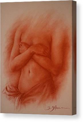 Elle Est Ile Canvas Prints